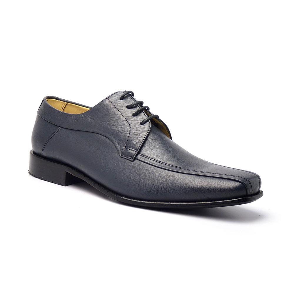 Sapato Social Masculino em Couro Pelica Vegetal IJ 34022