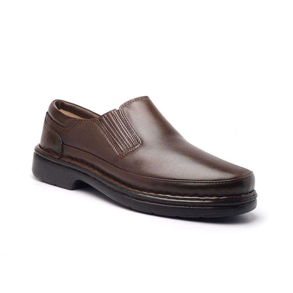 Sapato Casual Masculino em Tecido Mestiço ATS 6007