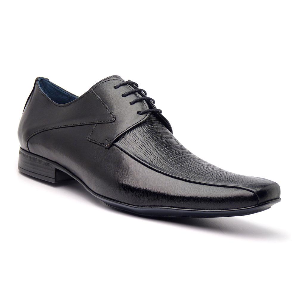 Sapato Social Masculino Mestiço Furado - ELI 2611