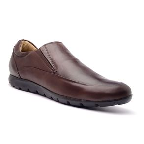Sapato Casual Masculino em Couro New Floater ELI 8404