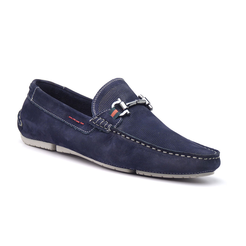 Sapato-Mocassim-Masculino-Azul-em-Nobuck-JCL-26252