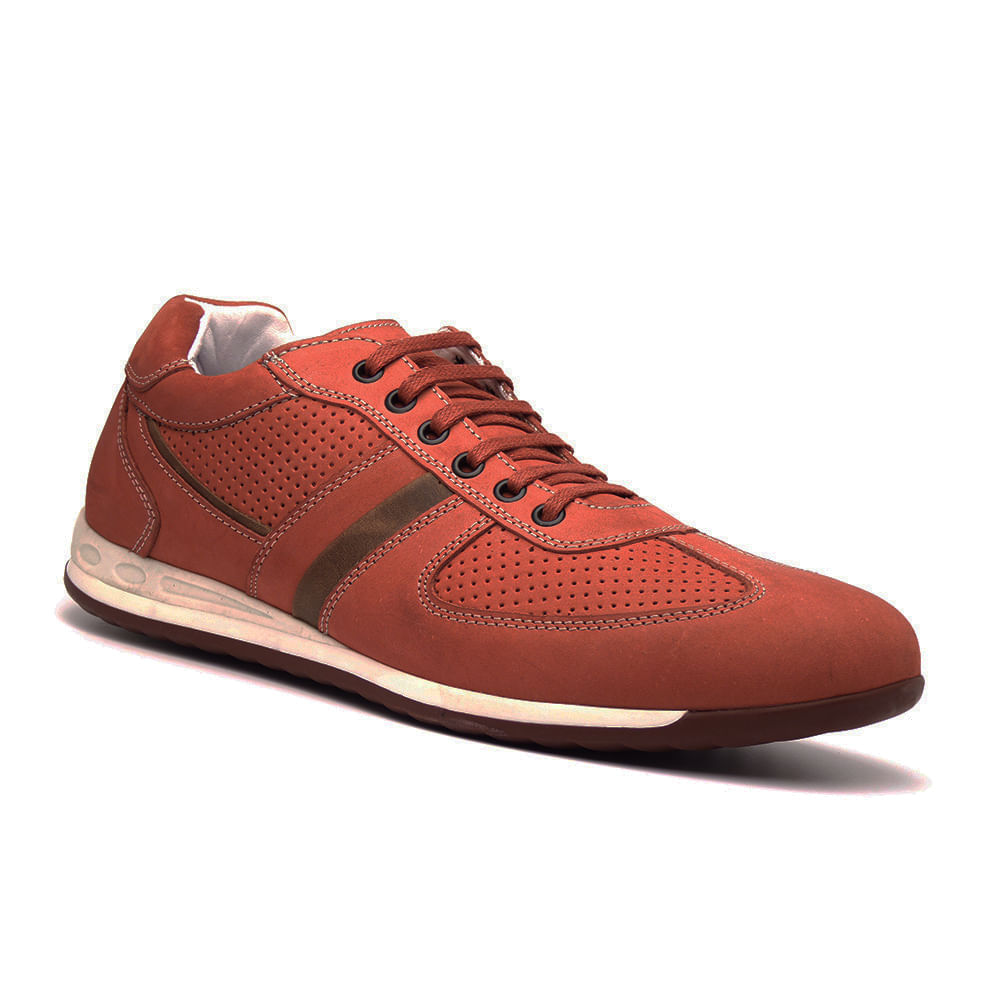 Sapatenis-Vermelho-Masculino-em-Couro-Delave-NGT-5100-Di-Pollini-