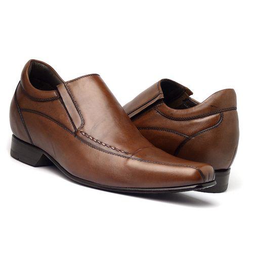 Sapato-Couro-Masculino-Confortavel-Di-Pollini-Cafe-Marrom
