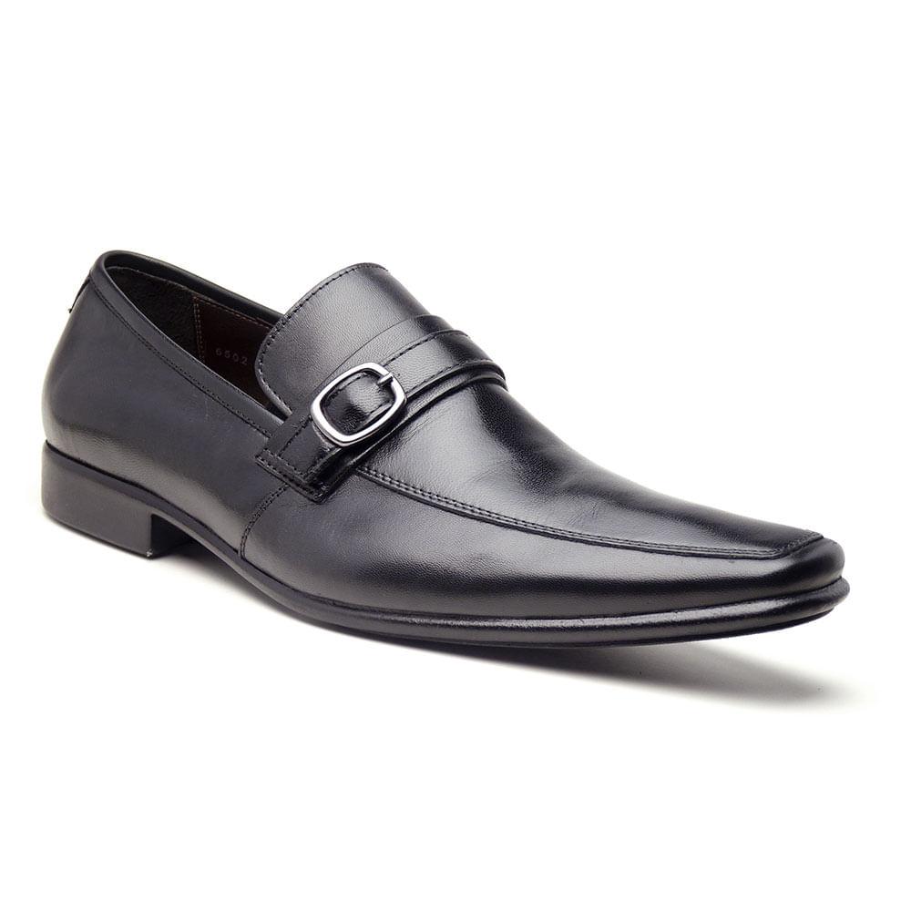 Sapato-Esporte-Fino-Di-Pollini-KLB-6502-Couro-vegetal-Coral-cor-preto