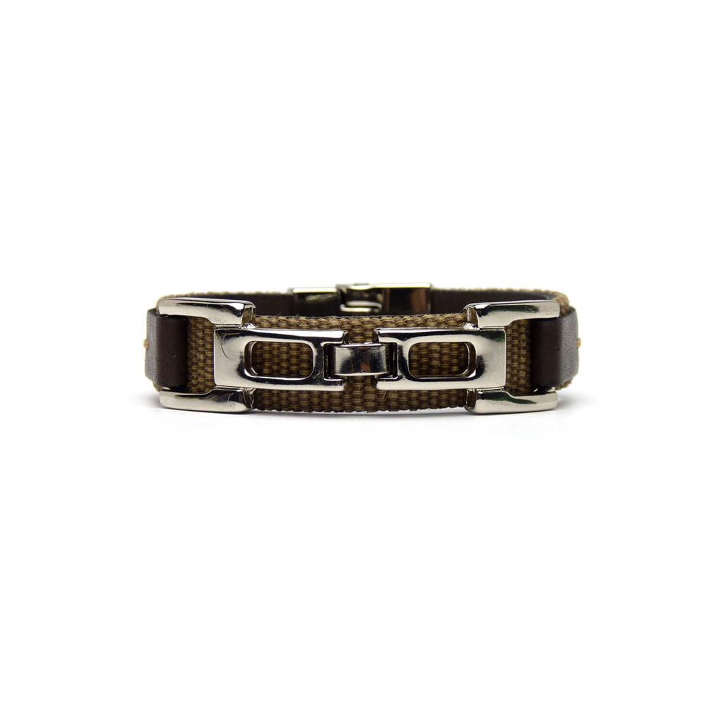 pulseira-masculina-dipollini-fivela-metal-tricolor