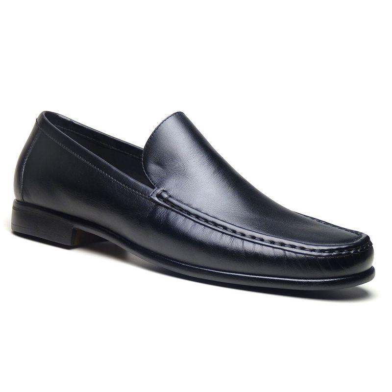 94718e6a6 Sapato Mocassim Masculino Di Pollini Couro Tivoli LEM 550 - DiPollini