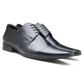 8dd7ea536 Sapato Social Masculino em Couro Vitello Italiano | Di Pollini ...