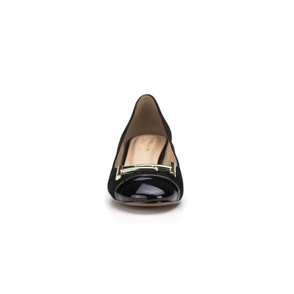 8a75890de Sapato Feminino Di Pollini Donna Couro Nobuck MNC 13201 - DiPollini