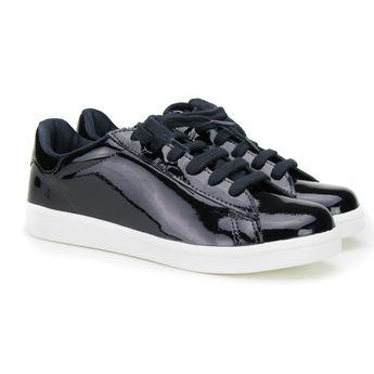 tenis-sneaker-feminino-dipollini-donna-em-verniz-mm-c15003-preto-01