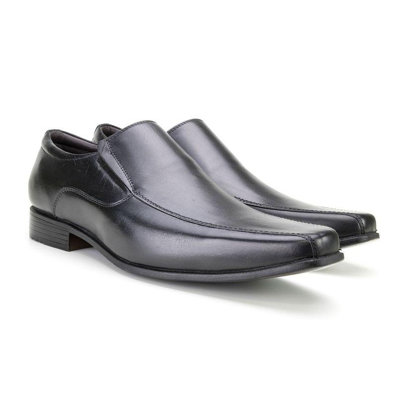 13e57f0ef0 Sapato Esporte Fino Side Gore Masculino Di Pollini em Couro ALT 179 ...