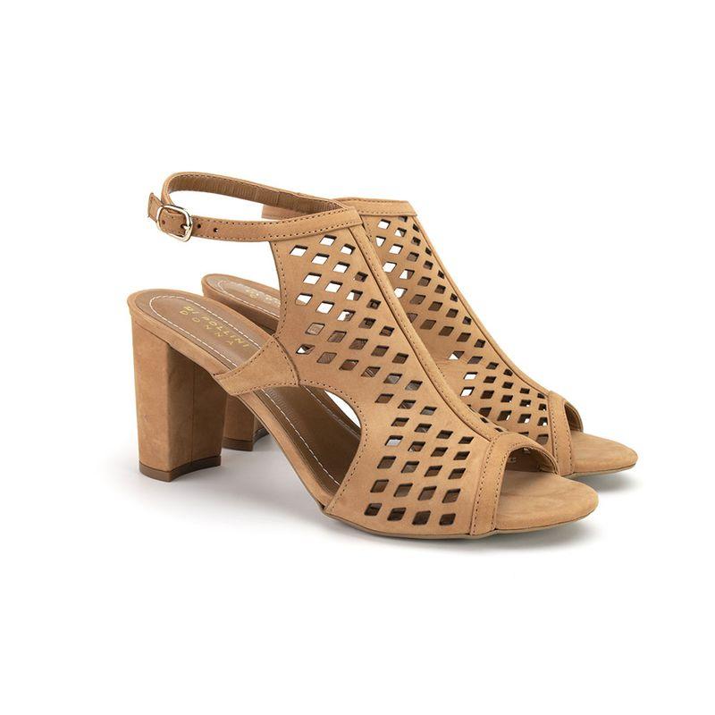 27254bd1f Sandal Boot Feminino Di Pollini Donna em Nobuck Vazado MLS 6666-1219 ...